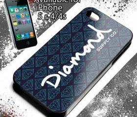 DIAMOND SUPPLY CO - iPhone 4 Case, iPhone 4s Case and iPhone 5 case Hard Plastic Case NRT